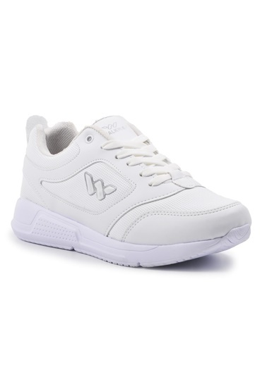 Walkway Prt-021 Beyaz-Gümüş Kadın Ayakkabı Beyaz
